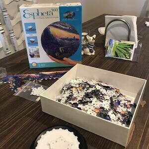 sphere puzzle bought circa 2002 finally opened now